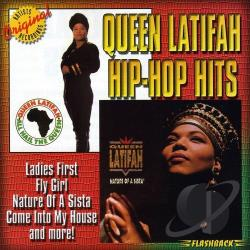 Queen Latifah - Hip-Hop Hits CD Cover Art