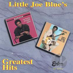 Little Joe Blue - Greatest Hits CD Cover Art