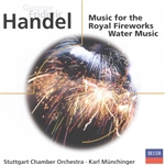 Handel / Munchinger / Stuttgart Chamber Orch - Handel: Music for the Royal Fireworks; Water Music CD Cover Art