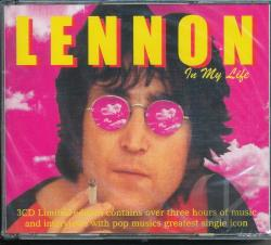 Lennon, John - In My Life:Music + Interviews CD Cover Art