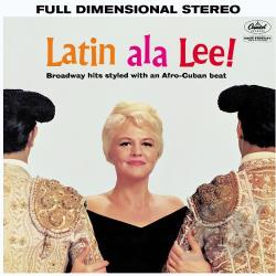 Lee, Peggy - Latin ala Lee! CD Cover Art