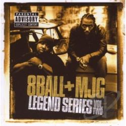 8Ball & MJG - Legend Series Volume 2 CD Cover Art