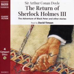 Doyle / Timson - Return Of Sherlock Holmes 3 CD Cover Art