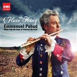 Pahud, Emmanuel - Flute King: Music From The Court Of Frederick The Great DB Cover Art