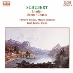 Jando / Schubert / Takacs - Schubert: Lieder CD Cover Art