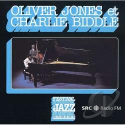 Biddle, Charlie / Jones, Oliver - Oliver Jones & Charlie Biddle: Live at Festival International de Jazz de Montreal CD Cover Art