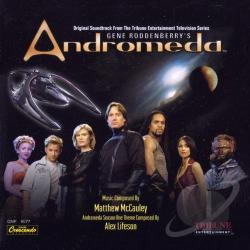 McCauley, Matthew / Original Soundtrack - Gene Roddenberry's Andromeda CD Cover Art