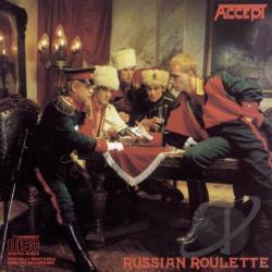 Accept - Russian Roulette CD Cover Art