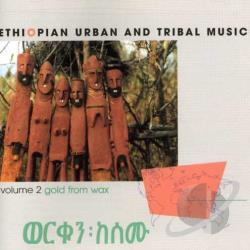 Gold From Wax: Ethiopian Urban And Tribal Music CD Cover Art