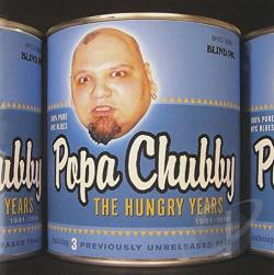 Chubby, Popa - Hungry Years CD Cover Art