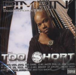 Too Short - Pimpin' Incorporated CD Cover Art