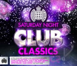 Ministry Of Sound: Saturday Night Club Classics CD Cover Art