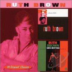 Brown, Ruth - Ruth Brown/Miss Rhythm CD Cover Art