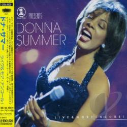 Summer, Donna - Live & More Encore CD Cover Art