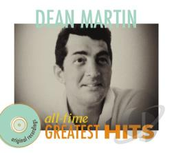 Martin, Dean - All-Time Greatest Hits CD Cover Art