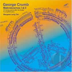 Crumb / Leng Tan - George Crumb: Makrokosmos I & II CD Cover Art