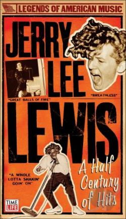 Lewis, Jerry Lee - Half Century of Hits CD Cover Art