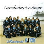 Mariachi Divas - Canciones de Amor CD Cover Art