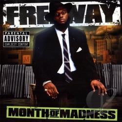 Freeway - Month of Madness CD Cover Art