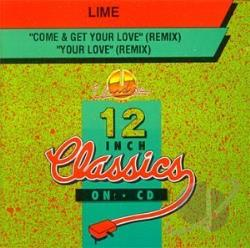Lime - Come & Get Your Love CD Cover Art