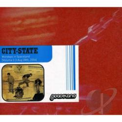 City-State - Mondays In Spaceland, Vol. 2: 3 August 2 CD Cover Art