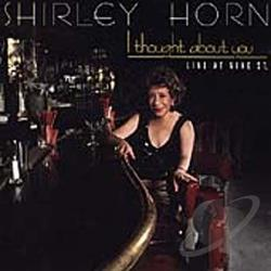 Horn, Shirley - I Thought About You CD Cover Art