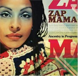 Zap Mama - Ancestry in Progress CD Cover Art