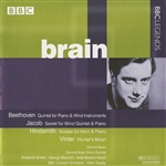 Brain, Dennis - Beethoven, Jacob, Hindemith, Vinter CD Cover Art