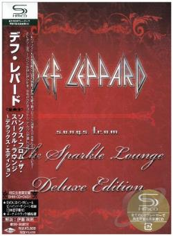 Def Leppard - Songs From The Sparkle Lounge CD Cover Art