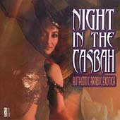 Night In The Casbah: Authentic Arab Exotica CD Cover Art