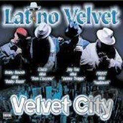Latino Velvet - Velvet City CD Cover Art