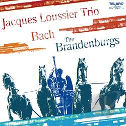 Loussier, Jacques - Bach: The Brandenburgs CD Cover Art