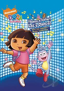 Dora The Explorer - Vamos a Bailar - Let's Dance!: Dora the Explorer's Music Collection CD Cover Art