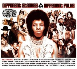 Sly & The Family Stone - Different Strokes By Different Folks CD Cover Art