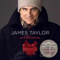 Taylor, James - James Taylor at Christmas CD Cover Art
