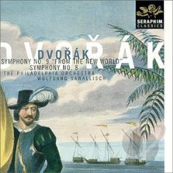 Dvorak - Dvorak: Symphonies 8 & 9 CD Cover Art
