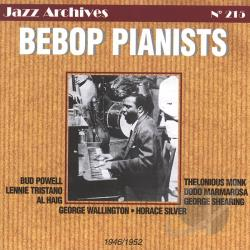 Powell, Bud - Bebop Pianists CD Cover Art