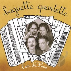 Quartette, Baguette - L'Air de Paris CD Cover Art