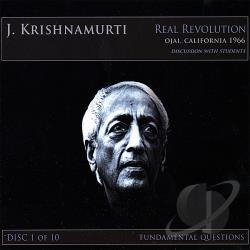 Krishnamurti, J. - Krishnamurti,J. Vol. 1 - Real Revolution CD Cover Art