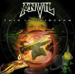 Anvil - This Is Thirteen CD Cover Art