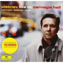 Pletnev, Mikhail - Pletnev Live at Carnegie Hall CD Cover Art