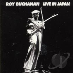 Buchanan, Roy - Live in Japan CD Cover Art