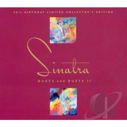 Sinatra, Frank - Duets/Duets II 90th Birthday Limited Collector's Edition CD Cover Art
