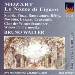Walter, Bruno - Mozart, W.A.: The Marriage Of Figaro [opera] (1937) DB Cover Art