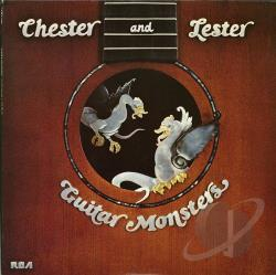 Atkins, Chet / Paul, Les - Guitar Monsters CD Cover Art