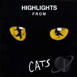 Cats: Selections From The Original Broadway Cast Recording. CD Cover Art