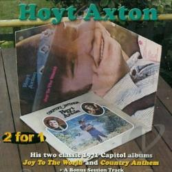 Axton, Hoyt - Joy to the World/Country Anthem CD Cover Art