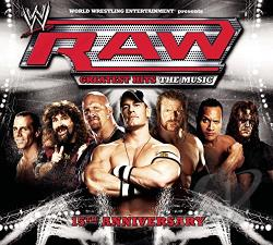 WWE Presents Raw Greatest Hits: The Music CD Cover Art