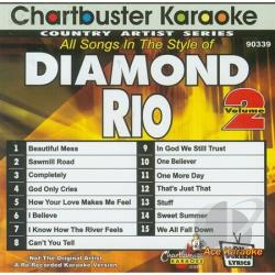 Diamond Rio - Karaoke: Diamond Rio 2 CD Cover Art