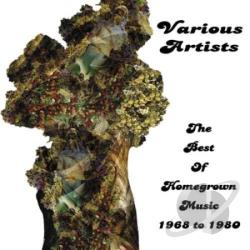 Best of Homegrown Music 1968 to 1980 CD Cover Art